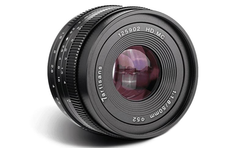 50mmF1.8単焦点レンズ