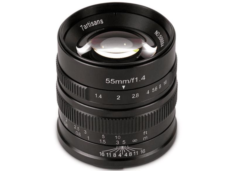 55mmF1.4単焦点レンズ