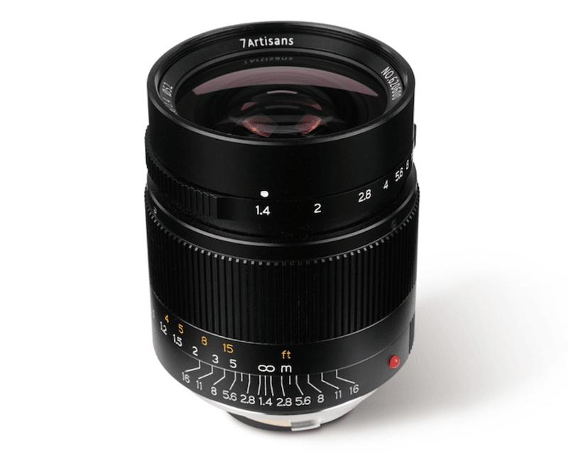 28mmF1.4単焦点レンズ