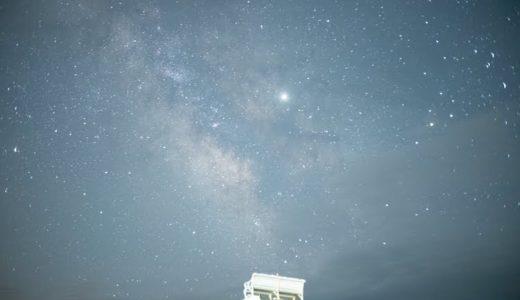 七工匠25mmF1.8で天の川を撮影